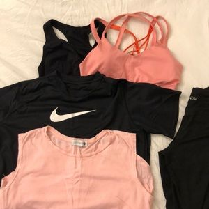 Sports activewear set of 5